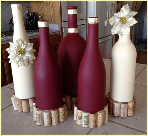 decorate wine bottles home design ideas