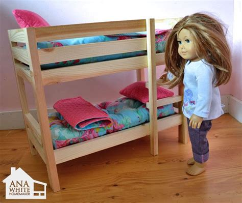 18 doll bunk bed plans woodworking projects plans