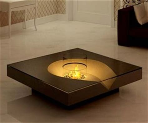 Coffee Table Fireplace Coffee Table With Fireplace By Planika Fires