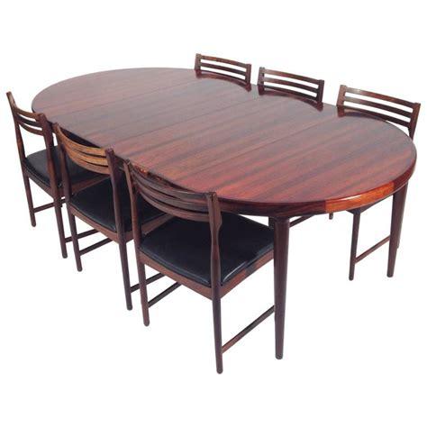 danish dining room set danish rosewood dining set by severin hansen for bovenk