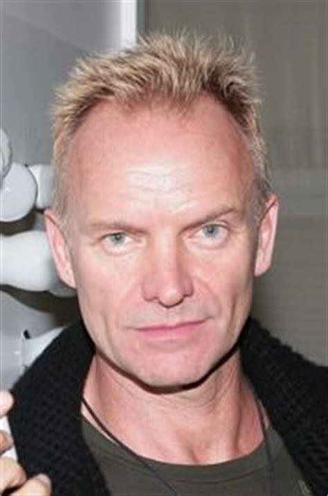 sting hairstyles gallery of famous receding hairlines