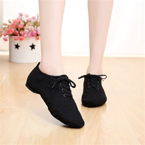Sepatu Jazz Ballet 2018 new soft cloth jazz shoes ballet shoes for