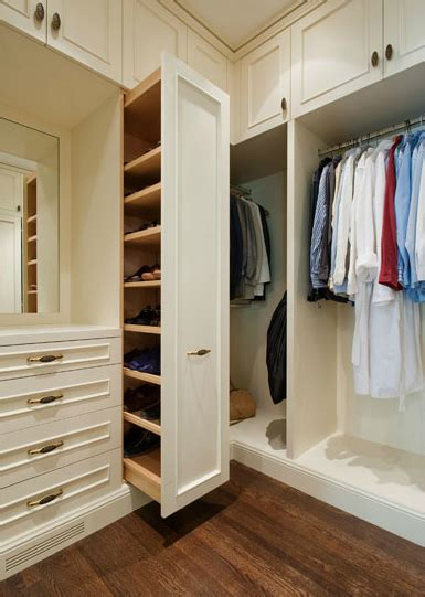 Pull Out Closet Storage by Sliding Shoe Cabinet Traditional Closet Sutro Architects