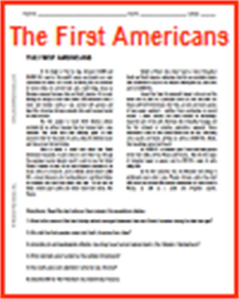 America Before Columbus Worksheet