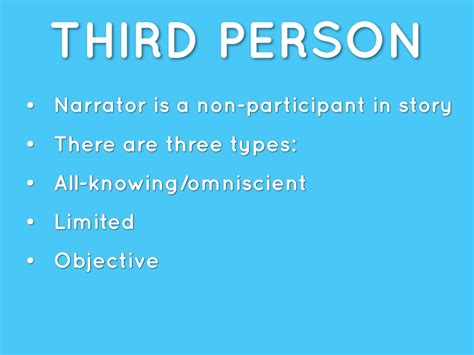 biography sle using third person point of view by srit karra