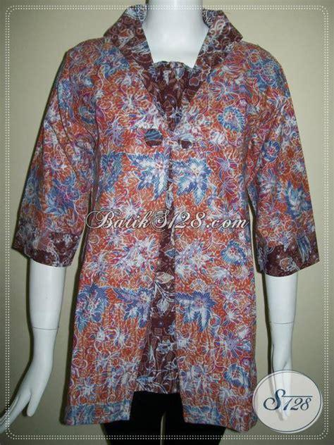 Baju Batik Wanita Karier batik wanita aktif baju batik wanita karier dan wanita batik trendy bls435p l toko batik
