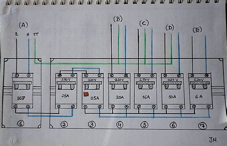 cuadros electricos viviendas cuadro de maniobras electrico de una vivienda t 233 rmicos