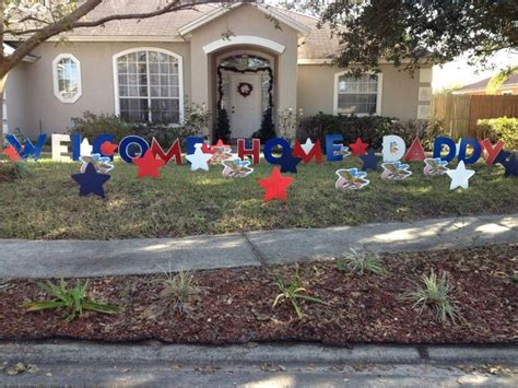 military welcome home decorations 25 best ideas about welcome home surprise on pinterest