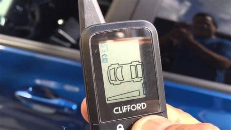 Alarm Clifford Jakarta clifford 3305x car alarm doovi