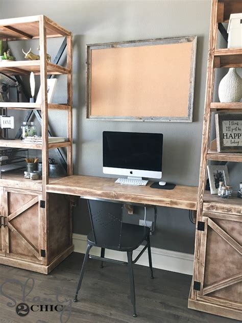 Diy Work Desk Diy Floating Desk For Office Towers Shanty 2 Chic