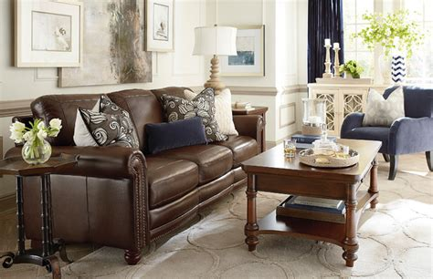 hamilton living room by bassett furniture traditional