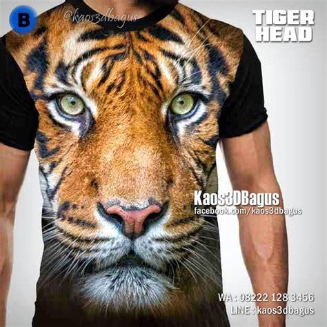 Kaos Animal 3d Tiger Taring by Jual Kaos 3d Harimau Kaos Tema Harimau Kaos Gambar Macan