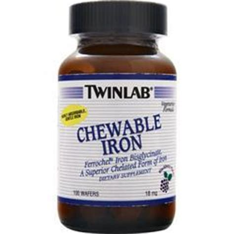 iron supplements for dogs twinlab chewable iron on sale at allstarhealth