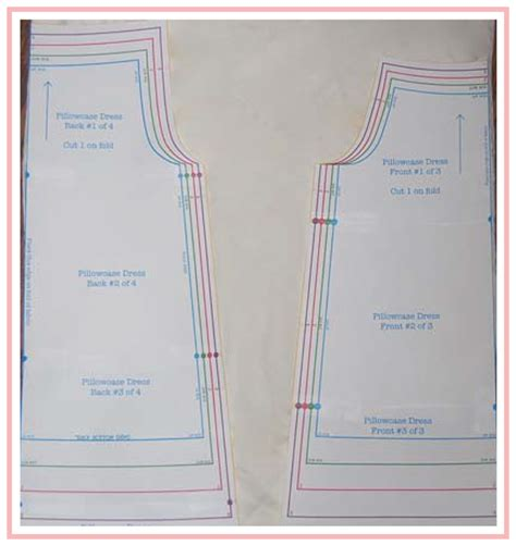 pillowcase dress template sew sweet patterns pillowcase dress tutorial