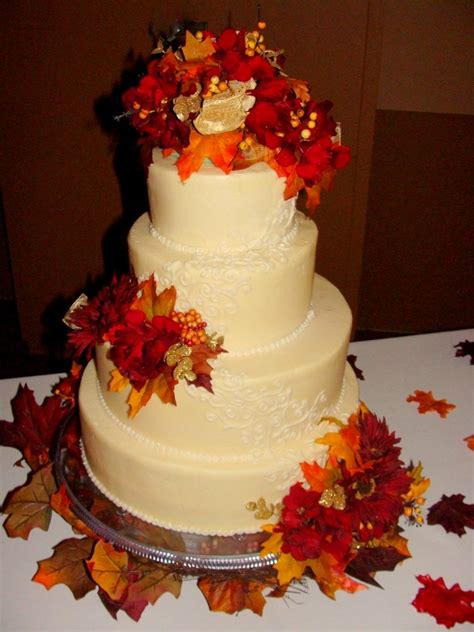 Fall Wedding Cakes by Photos Of Fall Wedding Cakes Ipunya