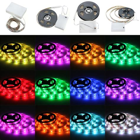 craft lights rgb led lights with battery box waterproof craft
