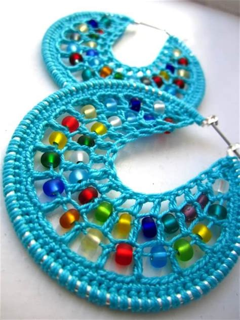 20 crochet earrings ideas diy to make
