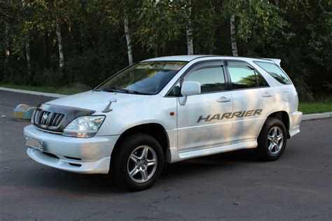 toyota harrier 2002 toyota harrier pictures information and specs