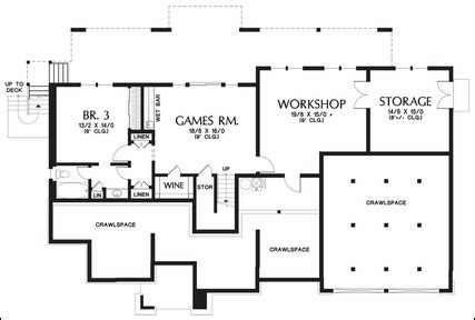 one story floor plans with basement one story floor plans with basements