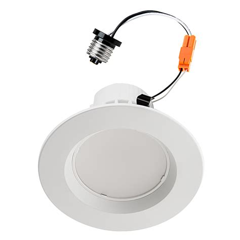 4 Can Lights by Retrofit Led Can Lights For 4 Quot Fixtures 85 Watt Equivalent Can Light Conversion Kit 835