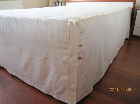bed skirt with split corners split corner button closure bedskirt bed skirt dust by