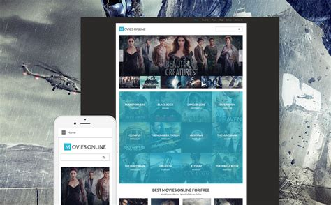 most popular themes in film template 61332 ensegna themes