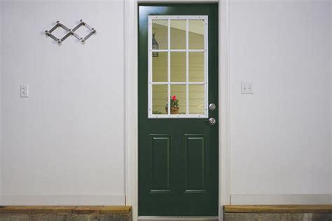 side door for garage how to spray paint a metal garage side door krylon 174