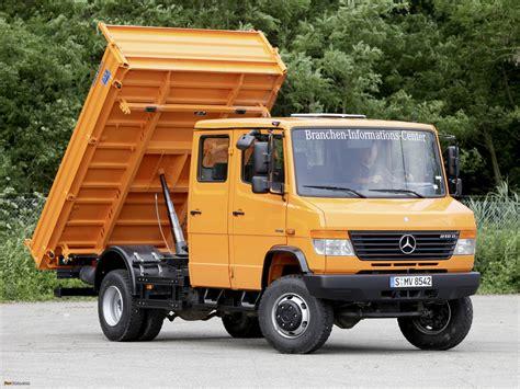 mercedes truck 4x4 mercedes vario cab truck 4x4 w670 1996