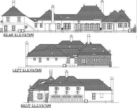 french normandy house plans luxury french normandy house plan 82003ka 1st floor master suite butler walk in