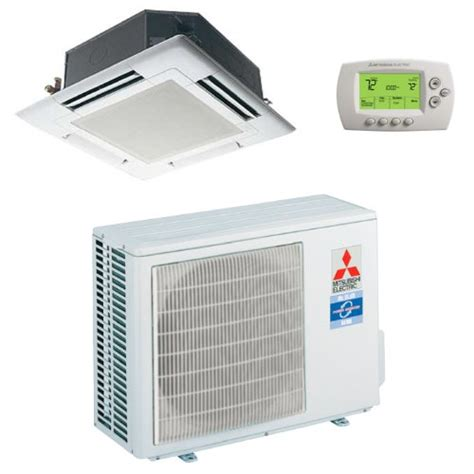 mitsubishi mini ceiling 18 000 btu h 14 20 seer mitsubishi single zone mini