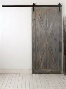 Barn Door Style Hardware X Barn Door