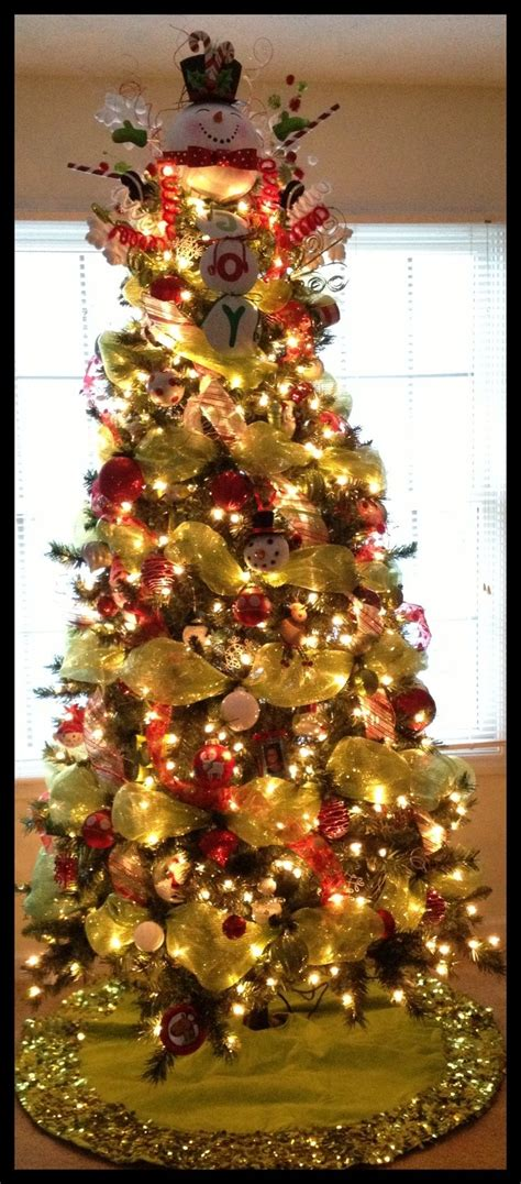decorating a christmas tree with mesh netting best 25 slim tree ideas on tree simple
