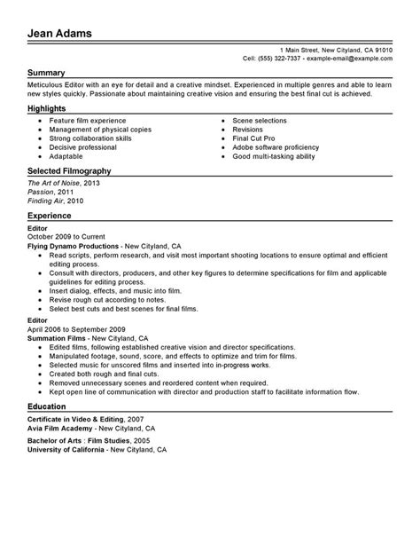 Job Resume Qualities by Resume Format Resume Builder Quality Assurance