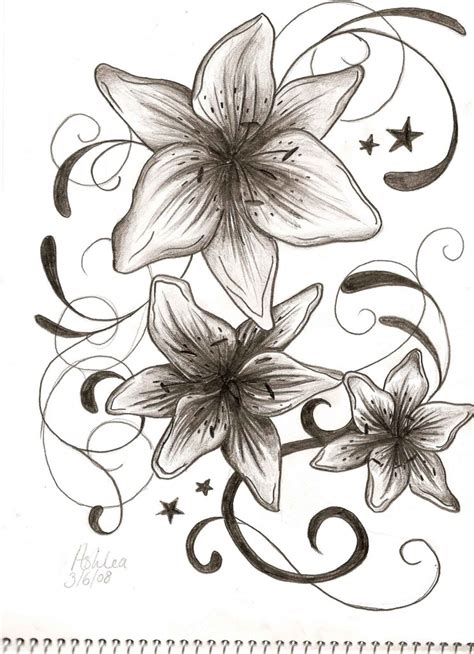 beautiful design tattoos beautiful flower designs for designs
