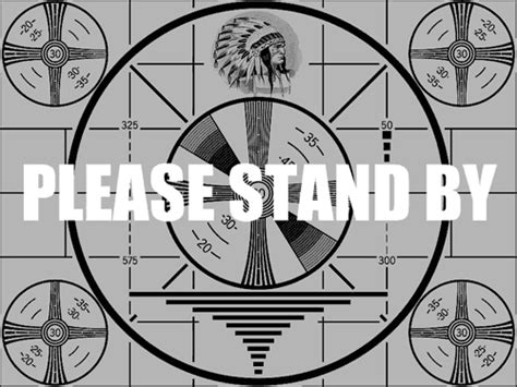 test pattern screen emergency broadcast system co2 comics blog