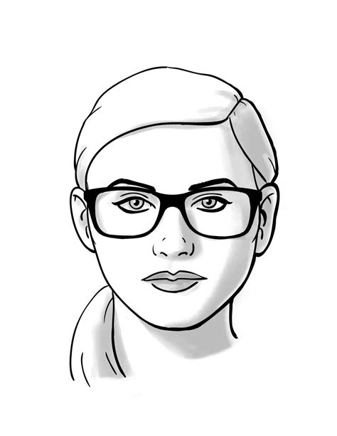 virtual face shape calculator how to choosing glasses for round face shapes thelook