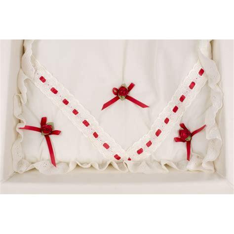 Silver Cross Dolls Bedding Set Silver Cross Kensington 3 Bedding Set Quilt Pillow And Pillow Ribbon And