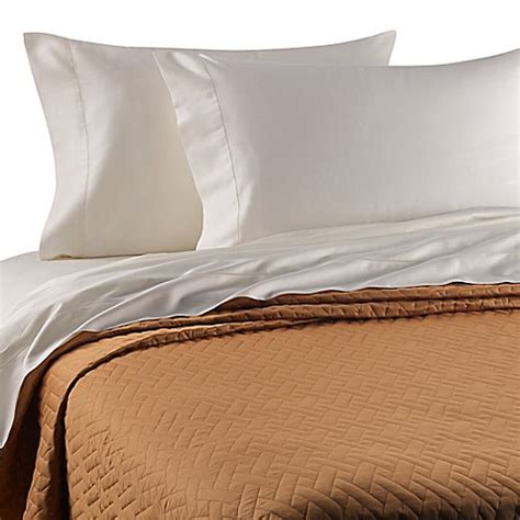 lightweight bed coverlet buy bellino raso lightweight quilted king coverlet in