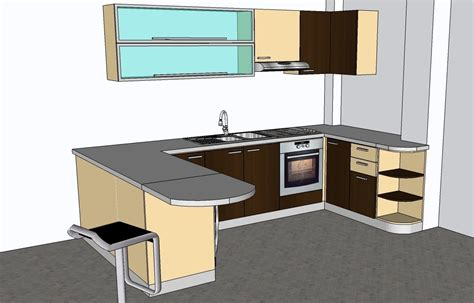 kitchen design cad kitchen design model 3ds max autocad and sketchup models