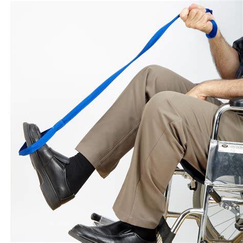 handicap bed lift leg lifter strap pcp