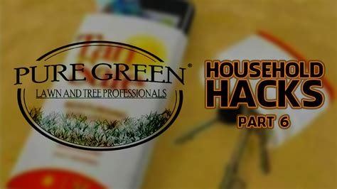 household hacks helpful household hacks 6 6 diy household tips green lawn care lansing michigan