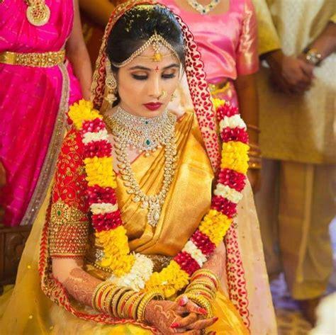 on pinterest saree blouse south indian bride and bridal sarees lovely telugu south indian bride indian bridal