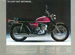 1971 Suzuki T500 Suzuki T500 Brochures Adverts