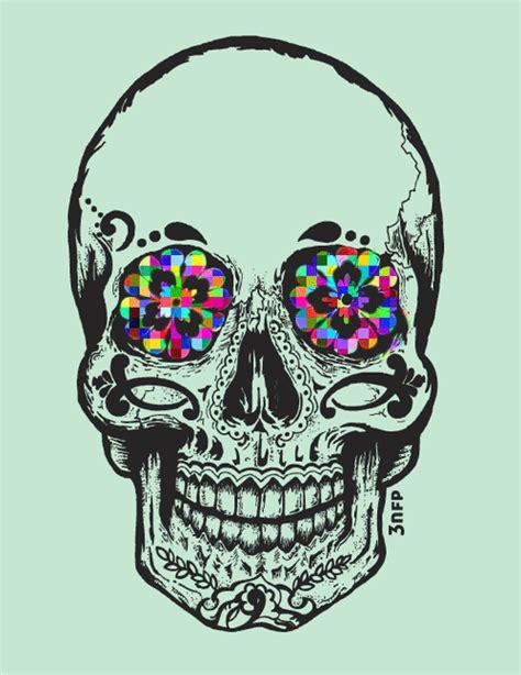 imagenes hipster de calaveras calaveras y flores tumblr