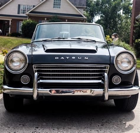 restored datsun 1966 datsun 1600 roadster restored