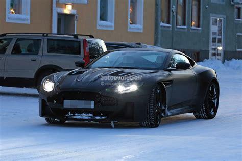 Aston Martin V8 Vanquish by Spyshots 2019 Aston Martin Vanquish Testing In The Snow
