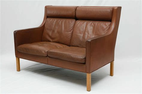 leather settees for sale borge mogensen leather settee for sale at 1stdibs