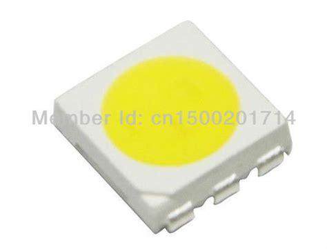 led diode high intensity aliexpress buy high intensity 22 23lm white smd led 5050 diode 6000 6500k 3 0 3 5v 100pcs