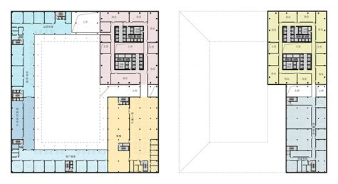 Design Floor Plans by Gallery Of Huishang Bank Headquarters Y Design Office 13