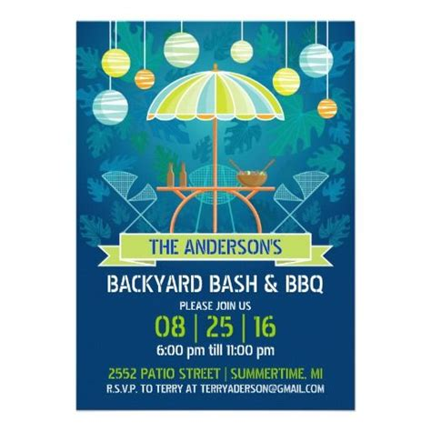 backyard party invitations backyard party invitations cimvitation